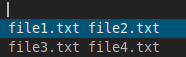 dmenu_echo_command_filenames