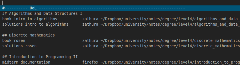 dmenu_university_shortcuts
